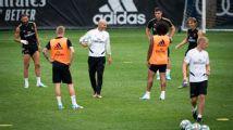 Zidane retoma los entrenamientos del Madrid en Montreal
