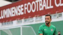 Nenê faz primeiro treino com o grupo do Fluminense e vira opção para o clássico