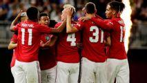 Lukaku sits out again as Utd thump Leeds 4-0