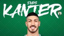 Celtics oficializan la llegada de Enes Kanter