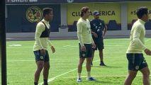 Giovani dos Santos vive su primer entrenamiento en Coapa
