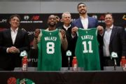New Green days: Celts introduce Walker, Kanter