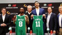 Los Celtics presentan a Kanter y Walker