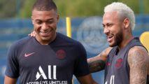 Neymar treina ao lado de Mbappé no PSG: 'Parceria'