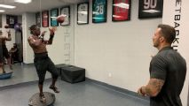We checked out those weird offseason workouts you've seen on Instagram