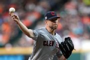 Indians' Kluber throws successful bullpen session