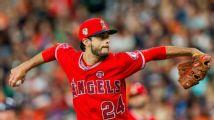 Noé Ramírez, Angels, suspendido por dar pelotazo a Jake Marisnick