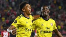 Nketiah's late winner helps Arsenal beat Bayern
