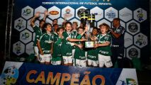 Palmeiras é campeão sub-10 e sub-11 do Dani Cup
