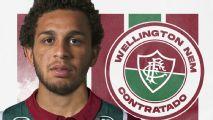 Fluminense anuncia contratação de Wellington Nem por empréstimo