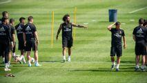 El Real Madrid deja Montreal con Ramos a bordo