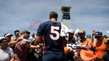 Joe Flacco emocionado tras primera práctica del campamento de Broncos