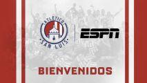 ESPN transmitirá los partidos del Atlético San Luis
