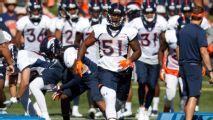 Todd Davis será baja 3-4 semanas con los Broncos