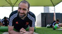 Higuaín se suma a la gira de la Juventus, aunque pierde el número 9