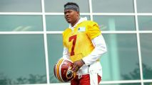 Dwayne Haskins' Redskins era starts with less hype, same hope as RGIII's