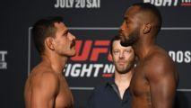 Rafael Dos Anjos y Leon Edwards dieron el peso para su pelea