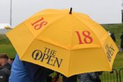 Open adjusts Sunday tee times as weather looms