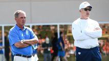 Mike Shanahan visitó práctica de Broncos por primera vez en 11 años