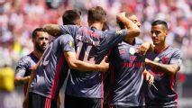 Benfica hit three past Chivas in shutout win