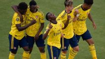 Arsenal derrota Fiorentina e chega à segunda vitória na International Champions Cup
