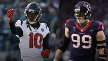 Texans arrancarán su campamento sin DeAndre Hopkins ni J.J. Watt
