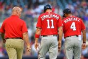 Nats' Zimmerman set for MRI after injuring foot