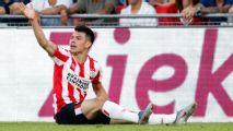 Hirving Lozano, listo para jugar ronda de clasificación de Champions
