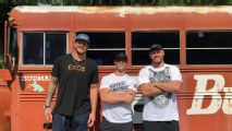 Taylor Lewan's new project? Buy a bus and start a podcast with Will Compton