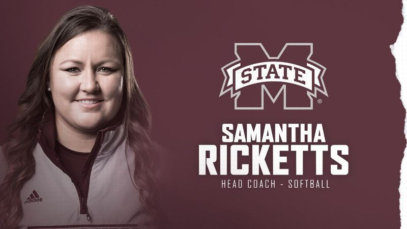 Ricketts named Mississippi State Head Softball Coach