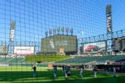 White Sox first team to employ extended netting