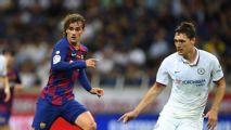 Barcelona cae ante Chelsea; Griezmann salió con molestias