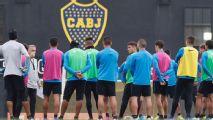 Alfaro probó un XI sin Villa y con Mac Allister, Ábila y Zárate