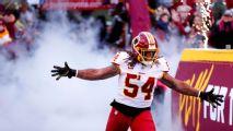 Redskins se desprenden de Mason Foster, su líder tacleador