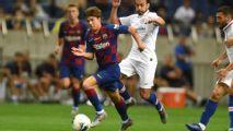 Riqui Puig gana elogios en la pretemporada del Barça