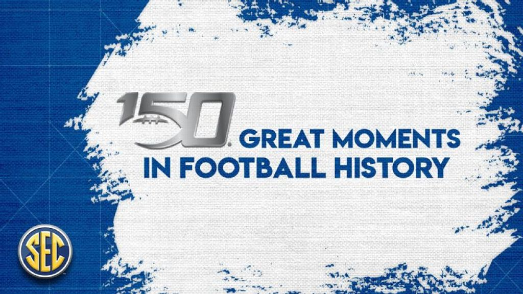 SEC recognizes 150 great moments in football history