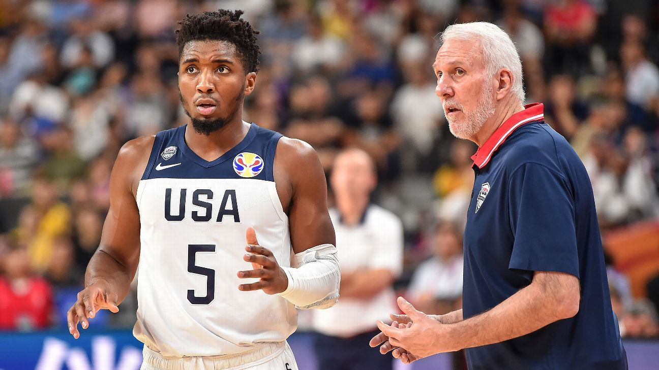 Team USA falls to France 89-79; 58-game international win streak with NBA players is snapped