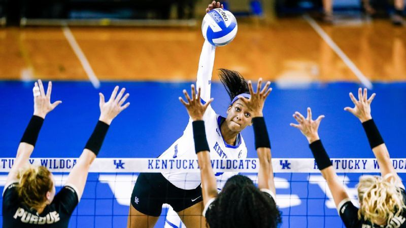 Edmond sets career-high for kills in Purdue loss