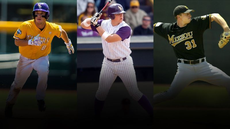 Three from SEC schools on World Series rosters