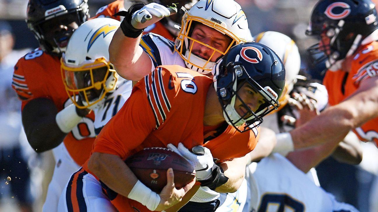 Bears, Mitchell Trubisky chìm nhanh – đến vị trí cuối cùng trong NFC North – Blog Bears Chicago