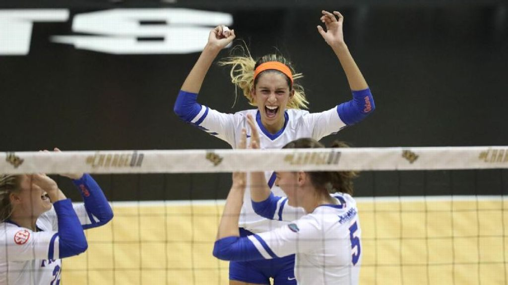 Florida wins its sixth straight match after beating UT