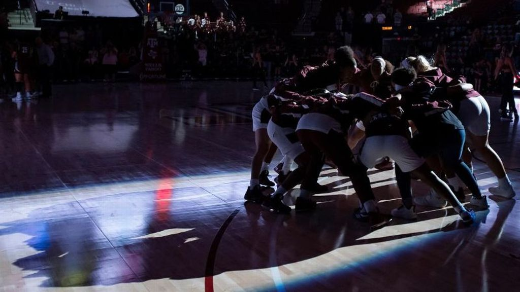 Aggies take on USA Basketball Women's National Team