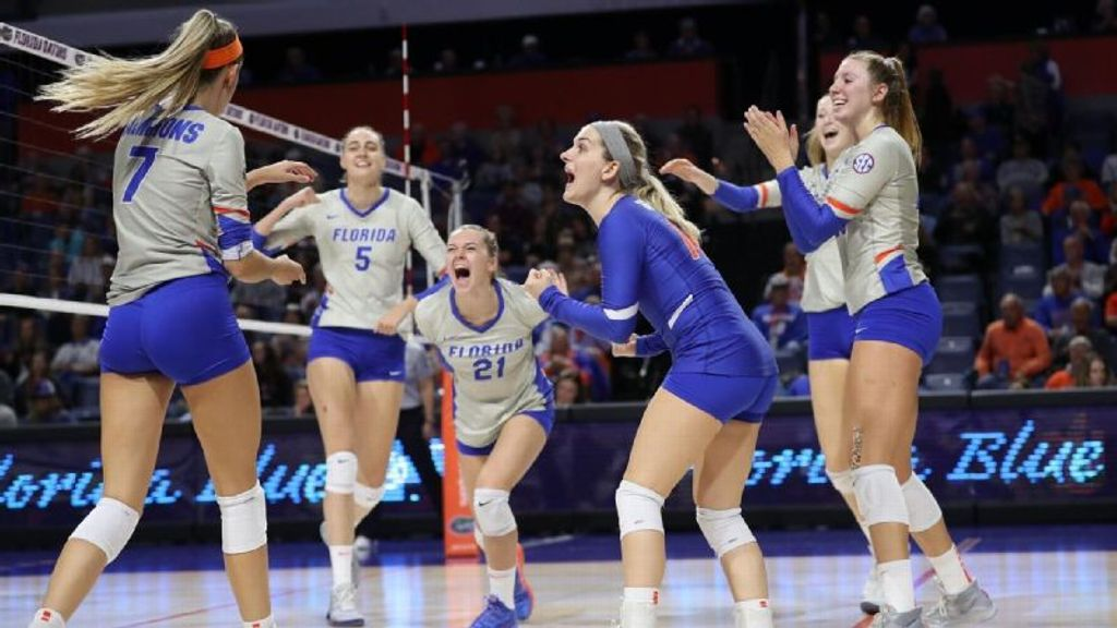 No. 15 Gators dominate Dawgs in sweep