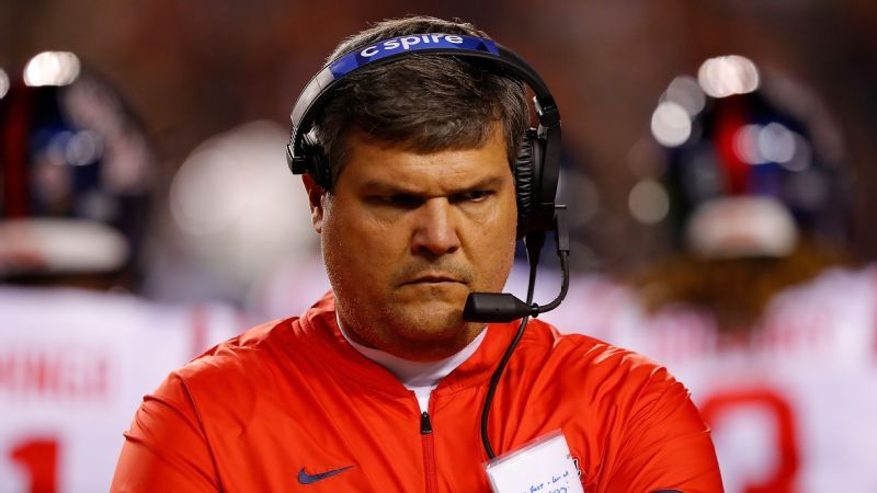 Ole Miss dismisses Matt Luke