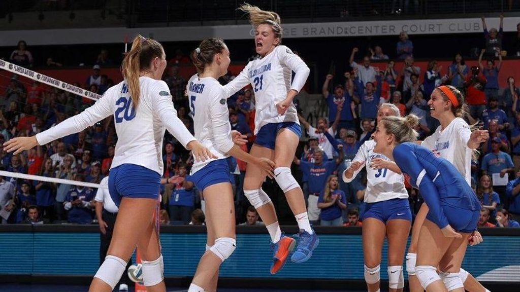 Florida sweeps Alabama State in opening round