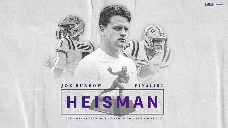 LSU's Joe Burrow named Heisman finalist