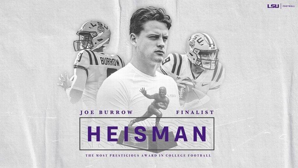 LSU's Joe Burrow named Heisman finalist