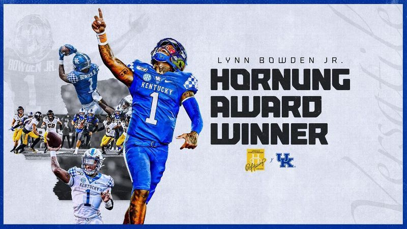 Kentucky's Bowden wins Hornung Award