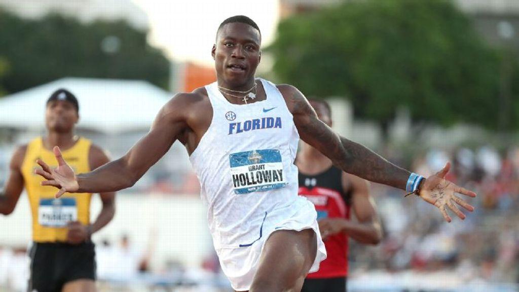Holloway becomes UF's second Bowerman winner