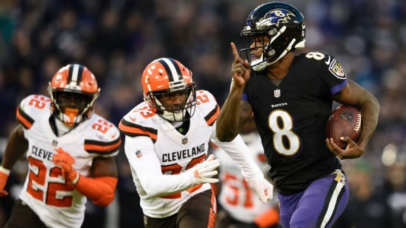 Run, Lamar, run: Ravens consider injury concern 'overrated'